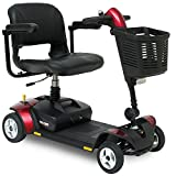 Pride Go-Go Elite Traveller LX Mobility Scooter with suspension seat, front light and high level charging point 12ah