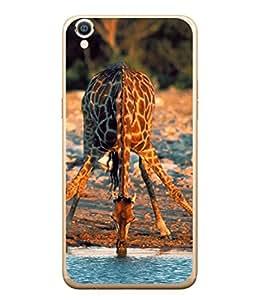 PrintVisa Water Is Life High Gloss Designer Back Case Cover for Oppo F1s