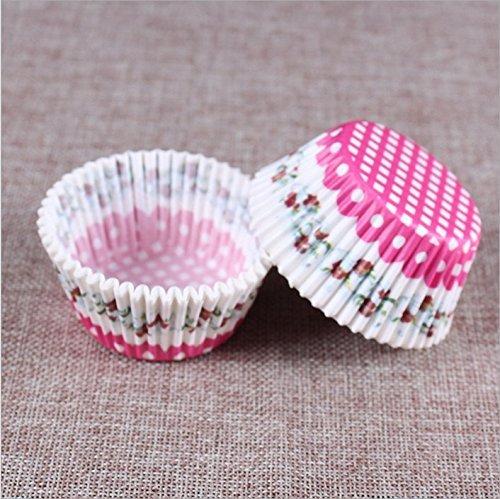 Honeysuck Standard Outil de cuisson à cupcakes Tenue Box Bakeware Tasses (à damiers)