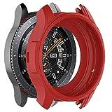 Amlaiworld Funda Completa Correa para Gear S3 Frontier/Galaxy Reloj 46 de Silicona Suave TPU protección Protectores de Pantalla Fundas con Correa