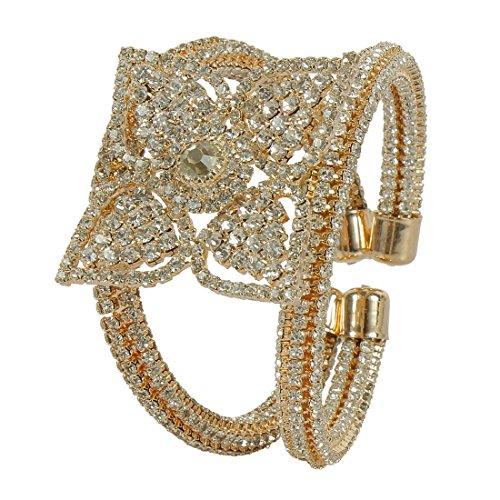 MUCH MOREBeautiful Ethnic Look Metal Kada bangle for Women & Girls Jewelry