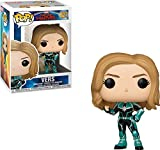 Funko- Bobble Captain Marvel: Pop 2 Idea Regalo, Statue, COLLEZIONABILI, Comics, Manga, Serie TV, Multicolore, 36342