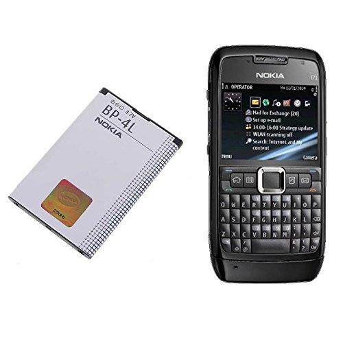 ORIGINAL Akku accu Batterie battery für Nokia 6650f, 6760s, E52, E55, E61i, E71, E72, E90, N810 Internet Tablet, N97 - 1500mAh - Li-Ionen - (BP-4L) Nokia Communicator