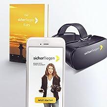 Flugangst selbstständig besiegen - Der sicherfliegen App-Kurs: Von Psychologen entwickelt, inkl. kostenlosem Virtual Reality Headset und Handbuch
