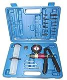 S-XC1VP Vakuumpumpe Universalpumpe mit Saug- und Druckfunktion inkl. Koffer mit vielen Adaptern und...