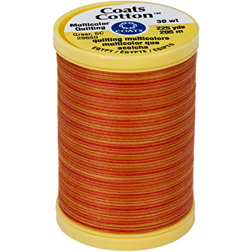 COATS Cotton Maschine Canyon Sunset Quilting Gewinde, 225YD, Multicolor