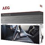 AEG AKIT12 Düsen-Erweiterungs-Set 360° Home & Car Kit, mit Softbürste, flexible Fugendüse, Mini-Turbodüse, 36mm (oval)