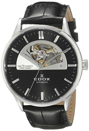 Edox Les Vauberts Herrenuhr Open Heart Automatic 85014 3 NIN