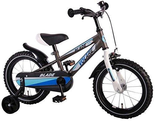 14 Zoll Fahrrad Qualitäts Kinderfahrrad mit Stützräder Blade 61433