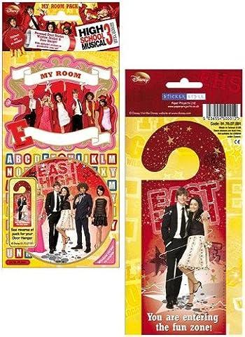 High School Musical Drei–My Room Sticker Pack–Sticker Style (High School Musical-pack)