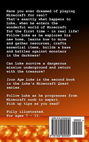 Iron Age Luke: Volume 2 (Luke's Minecraft Quest)