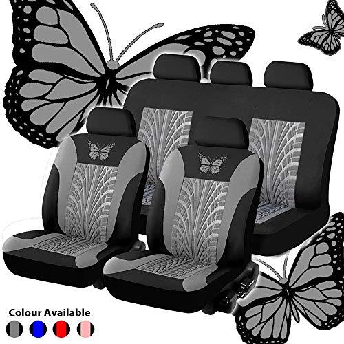 YXLcars Autositzbezüge,Schmutzabweisend,Dickes Material,rutschfeste Unterlage,Einfache Reinigung