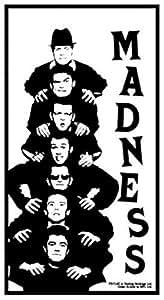 Set: Madness, Stacked Poster-Sticker Autocollant (9x9 cm) + 1x Sticker surprise 1art1® by 1art1®