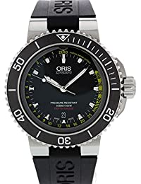 94eff5f852b3 Oris Aquis De Viento Auto Automático Reloj Profundímetro 7675 ...