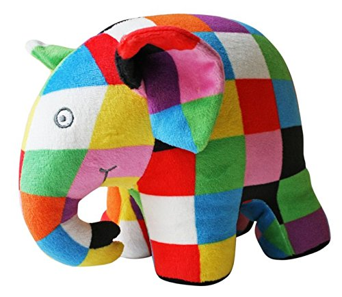 Preisvergleich Produktbild Thienemann - Esslinger Verlag 100001 Elmar Elefant Stoffelefant,  Brown