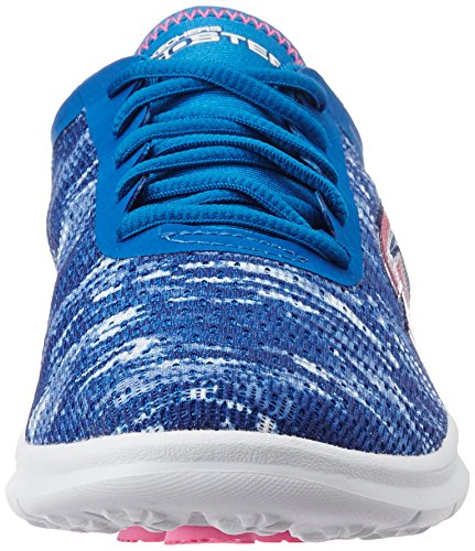 Skechers Go Step, Sneaker Donna Blu (Blue/pink)