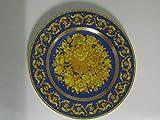 Rosenthal Versace Floralia Blue Wandteller 18 cm