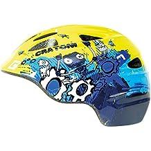 Cratoni Fahrrad Helm Fahrradhelm Akino Gr.M Kid Dino grün glanz 53-58cm