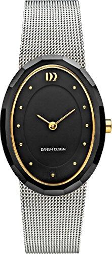 DANISH DESIGN Reloj Analógico para Unisex de Cuarzo con Correa en Acero Inoxidable IV69Q1170