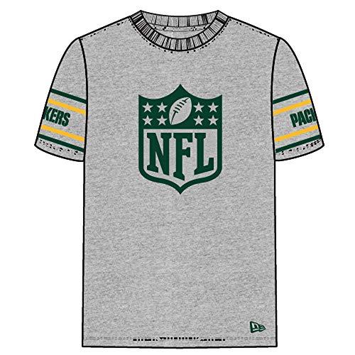rts NFL Green Bay Packers Badge grau 3XL ()