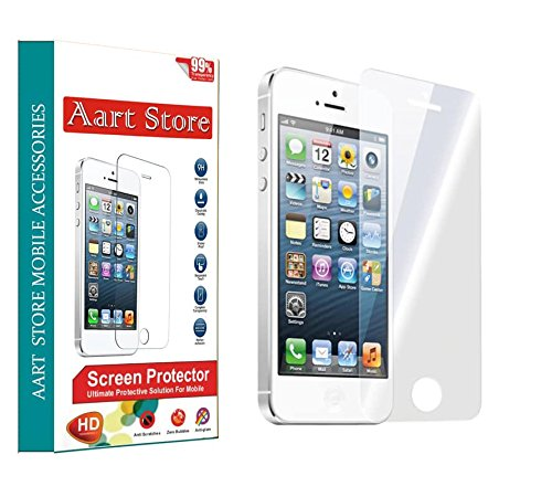 Buy One Get One Free Tempered Glass Screen Protector for Apple iPhone 5S / 5 by Aart