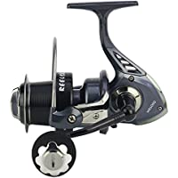 XUEYAN Spinning Fishing Reel 13 + 1 Bearings Left Right Manija Intercambiable para Agua Salada de Pesca en Agua Dulce Ratio 5.2: 1 con Doble Sistema de Freno de Arrastre (Tamaño : 5000)