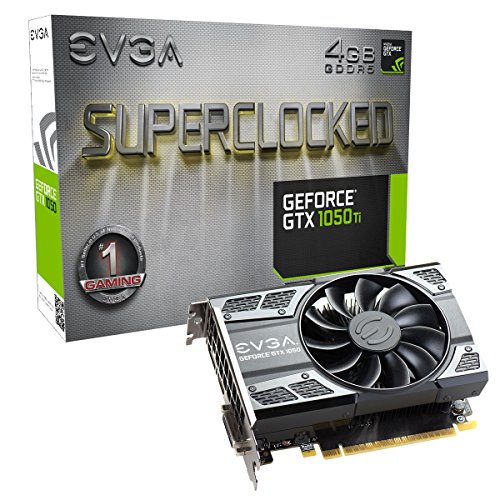 EVGA GeForce GTX1050Ti 4GB GDDR5 PCI-E Graphics Card