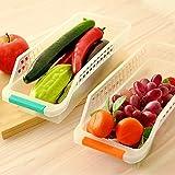 Kühlschrankbox Aufbewahrungsbox Kühlschrankkorb | 4er Set | farbig