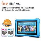 Fire HD 8 Kids Edition Tablet, 8 Display, 32 GB, Blue Kid-Proof Case