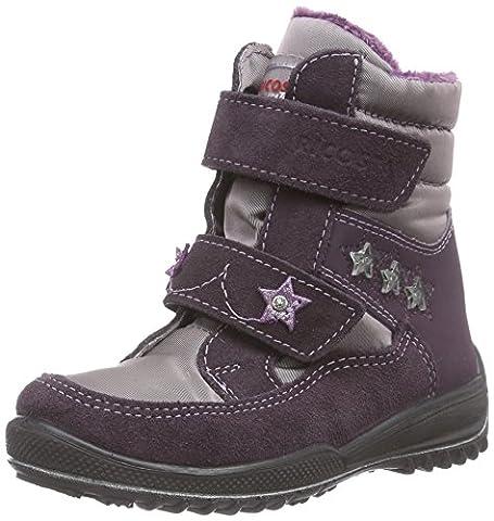 Ricosta Sakura, Mädchen Warm gefütterte Schneestiefel, Violett (dolcetto/purple 340), 32 EU (13 Kinder UK)