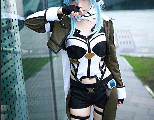 Skylynn---Sword Art Online anime Asada Shino cosplay Kleidung , Mailen Sie uns Ihre Größe (M 50-60kg)