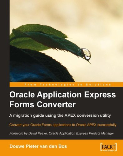 Oracle Application Express Forms Converter (English Edition) (Converter Graphic)