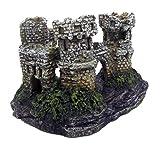 Croci Schloss mit Felsen Deko für Aquarien Größe XS
