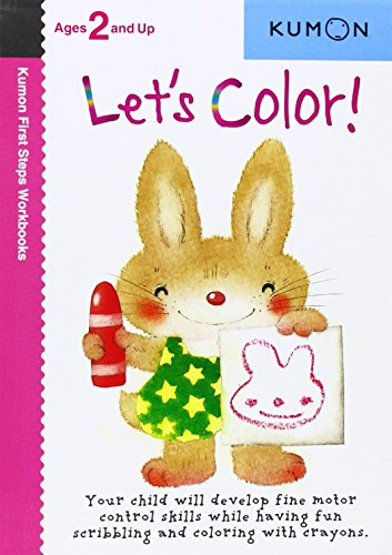 Let's Color (Kumon First Steps Workbooks)