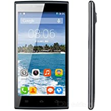 "Thl T6C - Smartphone libre Android (pantalla 5"", cámara 8 Mp, 8 GB, Quad-Core 1.3 GHz, 1 GB RAM), negro"