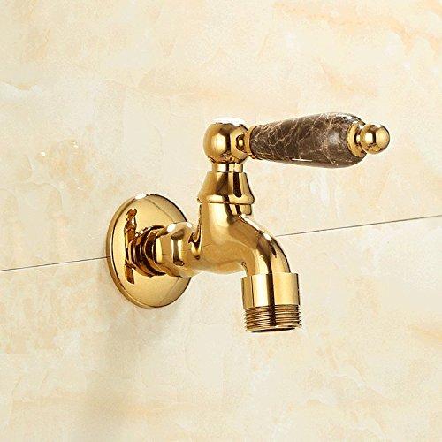 Preisvergleich Produktbild qnqaeuropean Stil, Home natürlichen Jade, alle Kupfer Badezimmer, Wasser Main Waschmaschine, Wasserhahn 6Mund, Dr. Siemens Wasserhahn, G
