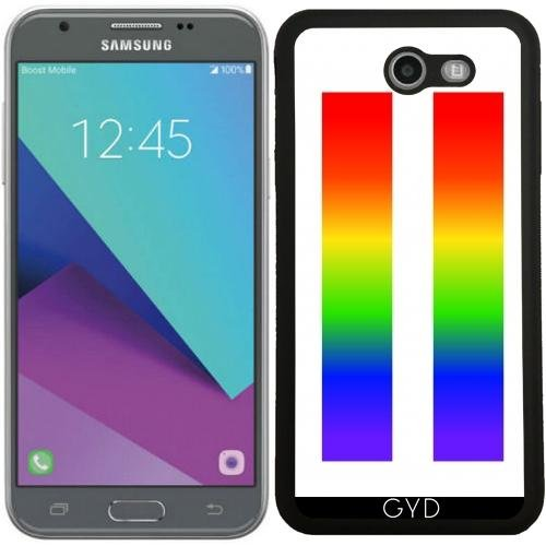 SilikonHülle für Samsung Galaxy J7 2017 (SM-J727) - Regenbogen Lgbt Gleichheitszeichen by loki1982