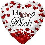 Ich Liebe Dich Ø 45cm | Folienballon | Ballongas Geeignet