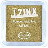 Aladine IZINK Pigment Stempelkissen - Metal - gold