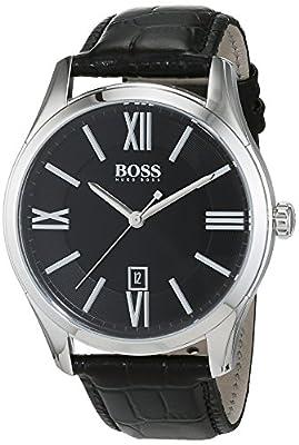 Hugo Boss - Reloj para hombre con correa de piel -1513022