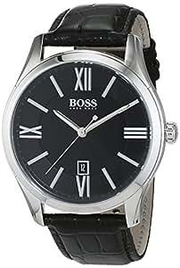Hugo Boss - 1513022 - Ambassador - Montre Homme - Quartz Analogique - Cadran Gris - Bracelet