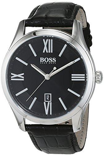 Hugo boss classic 1513022 - orologio da uomo con movimento al quarzo, quadrante analogico e cinturino in pelle