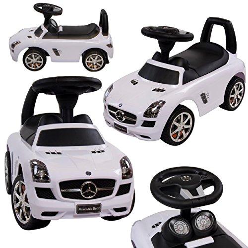 Preisvergleich Produktbild Rutschauto Rutscher Mercedes-BENZ Kinder Auto Baby Car mit Sound (Weiss)