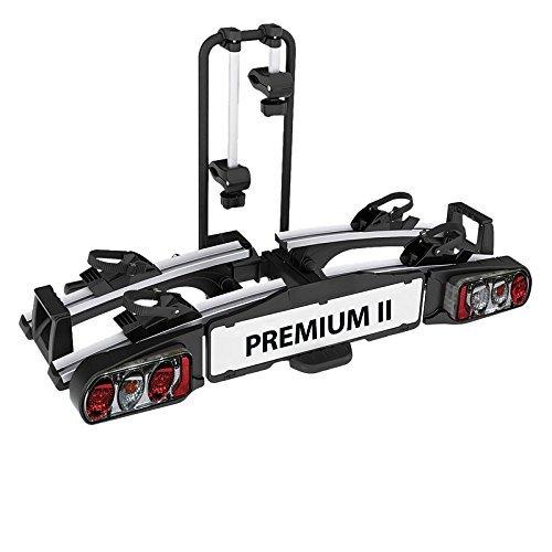 EUFAB 11521 Heckträger Premium ll für Anhängekupplung, für E-Bikes geeignet