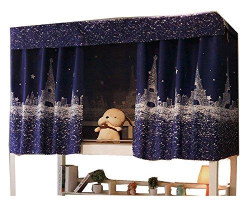 YJZQ Etagenbett Moskitonetz Hochbett Spielbett Bettvorhang Lichtdicht Vorhang Insektennetz Mückenschutz für Studentenwohnheim Kinderzimmer, 1.2 x 2.0 M(1pcs)