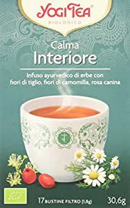 Yogi Tea Calma Interiore - 17 Bustine Filtro [30.6 gr]
