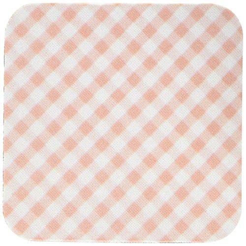 3dRose CST 113026InspirationzStore Gingham Muster-Braun und Weiß Gingham Muster Traditionelle Checkered Rustikal Checks Retro Country Kitchen Esstisch-Untersetzer, Gummi, weiß, set-of-4-Soft Gingham Checks, Serviette
