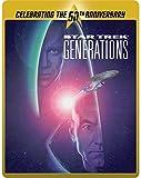 Star Trek 7 - Generations (Limited Edition 50th Anniversary Steelbook) [Blu-ray] [2015] UK-Import, Sprache-Deutsch, Englisch...