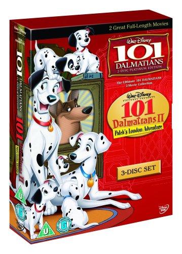 101 Dalmatians/101 Dalmatians 2: Patch's London Adventure [UK Import] (Bauer-patch)