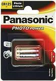 Digital Camera Battery PANASONIC CR123A Lithium 3.0V/1450mAh